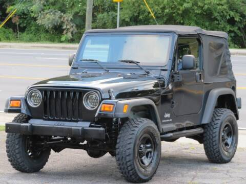 2006 Jeep Wrangler for sale at Marietta Auto Mall Center in Marietta GA