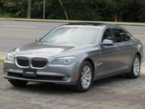 2011 BMW 7 Series for sale at Marietta Auto Mall Center in Marietta GA