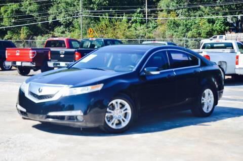 2010 Acura TL for sale at Marietta Auto Mall Center in Marietta GA