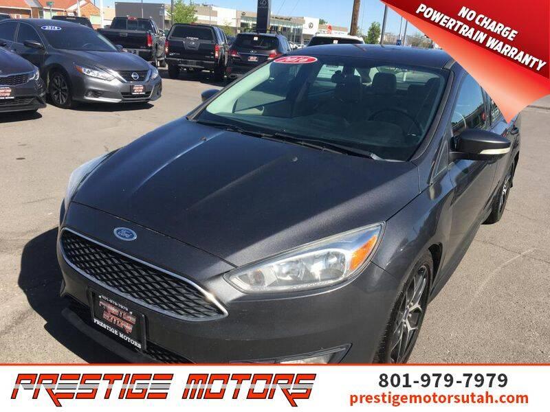 2016 Ford Focus for sale at Prestige Motors LLC in Salt Lake City UT