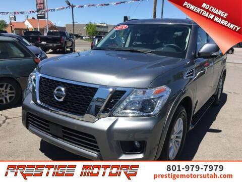 2019 Nissan Armada for sale at Prestige Motors LLC in Salt Lake City UT