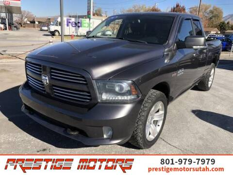 2014 RAM Ram Pickup 1500 for sale at Prestige Motors LLC in Salt Lake City UT