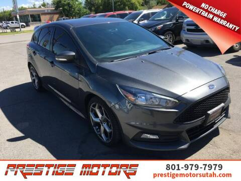 2018 Ford Focus for sale at Prestige Motors LLC in Salt Lake City UT