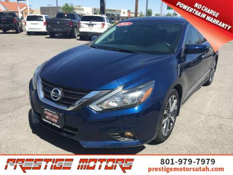 2016 Nissan Altima for sale at Prestige Motors LLC in Salt Lake City UT