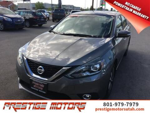 2017 Nissan Sentra for sale at Prestige Motors LLC in Salt Lake City UT