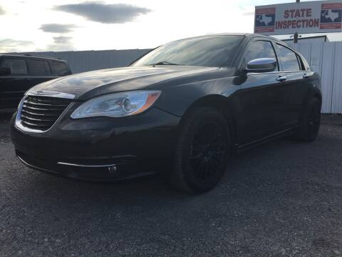 2011 Chrysler 200 for sale at Texas Country Auto Sales LLC in Austin TX