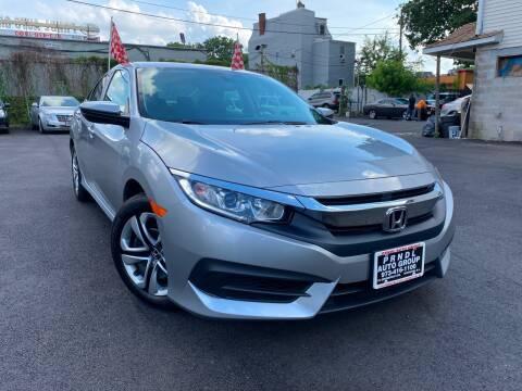 2016 Honda Civic for sale at PRNDL Auto Group in Irvington NJ