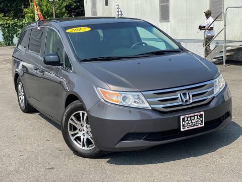 2012 Honda Odyssey for sale at PRNDL Auto Group in Irvington NJ