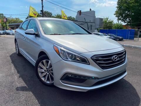 2015 Hyundai Sonata for sale at PRNDL Auto Group in Irvington NJ
