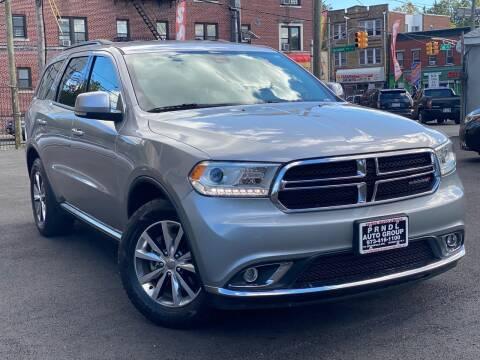 2016 Dodge Durango for sale at PRNDL Auto Group in Irvington NJ