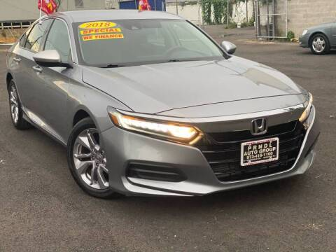 2018 Honda Accord for sale at PRNDL Auto Group in Irvington NJ