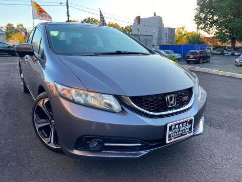 2015 Honda Civic for sale at PRNDL Auto Group in Irvington NJ