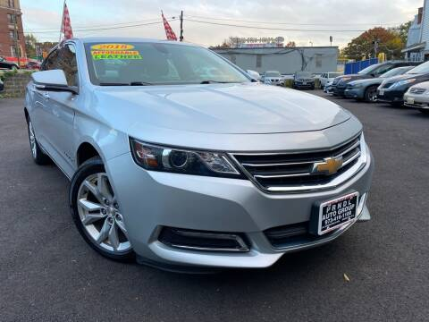 2018 Chevrolet Impala for sale at PRNDL Auto Group in Irvington NJ