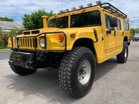 1998 AM General Hummer for sale at American Classics Autotrader LLC in Lantana FL