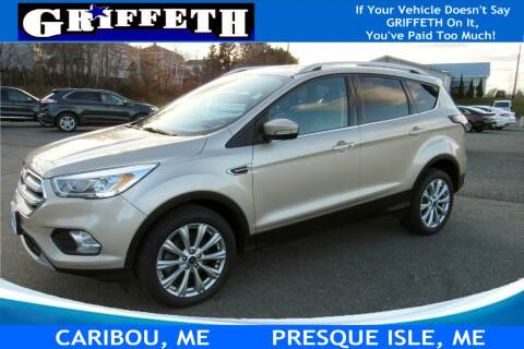 2017 Ford Escape for sale at Griffeth Ford in Presque Isle ME