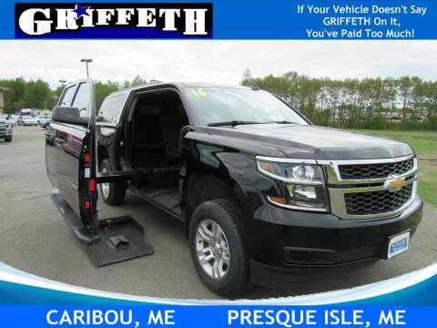 2016 Chevrolet Suburban for sale at Griffeth Ford in Presque Isle ME