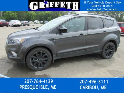 2018 Ford Escape for sale at Griffeth Ford in Presque Isle ME