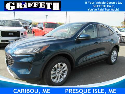 2020 Ford Escape for sale at Griffeth Ford in Presque Isle ME