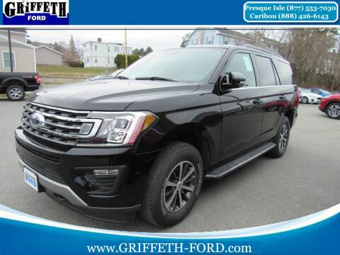 2020 Ford Expedition for sale at Griffeth Ford in Presque Isle ME