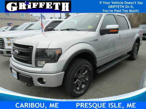 2014 Ford F-150 for sale at Griffeth Ford in Presque Isle ME