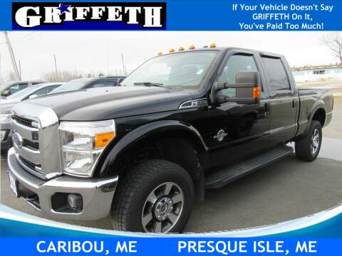 2016 Ford F-350 Super Duty for sale at Griffeth Ford in Presque Isle ME