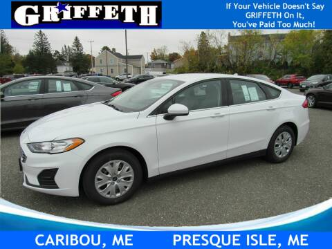 2020 Ford Fusion for sale at Griffeth Ford in Presque Isle ME