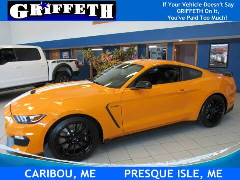 2019 Ford Mustang for sale at Griffeth Ford in Presque Isle ME