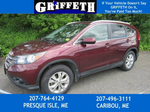 2012 Honda CR-V for sale at Griffeth Ford in Presque Isle ME
