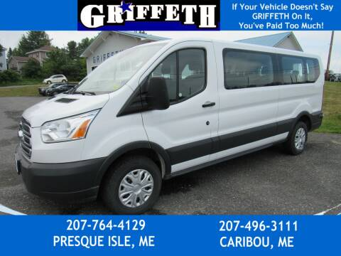 2018 Ford Transit Passenger for sale at Griffeth Ford in Presque Isle ME