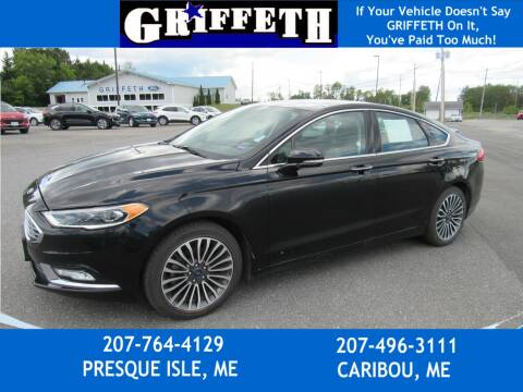 2017 Ford Fusion for sale at Griffeth Ford in Presque Isle ME