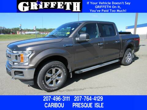 2018 Ford F-150 for sale at Griffeth Ford in Presque Isle ME