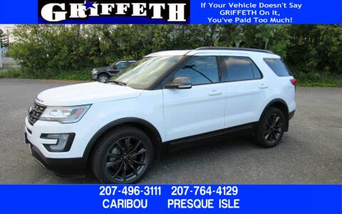 2017 Ford Explorer for sale at Griffeth Ford in Presque Isle ME