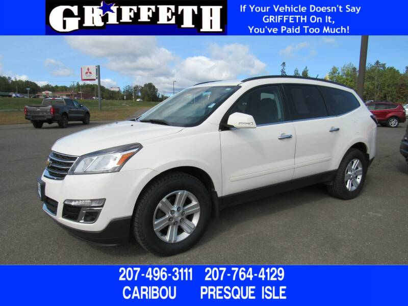 2013 Chevrolet Traverse for sale at Griffeth Ford in Presque Isle ME