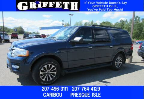 2016 Ford Expedition EL for sale at Griffeth Ford in Presque Isle ME