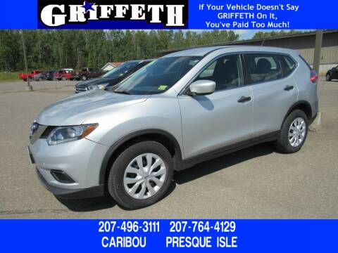 2016 Nissan Rogue for sale at Griffeth Ford in Presque Isle ME