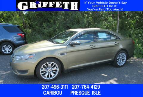 2013 Ford Taurus for sale at Griffeth Ford in Presque Isle ME