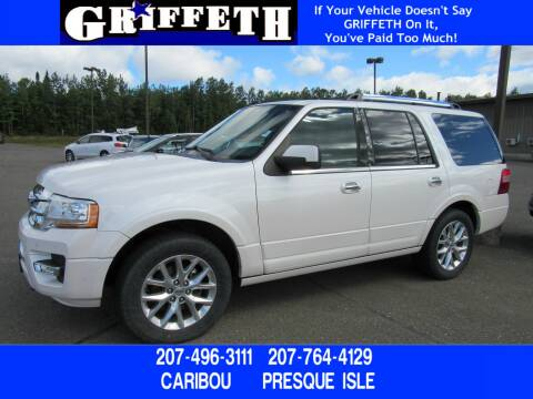2017 Ford Expedition for sale at Griffeth Ford in Presque Isle ME