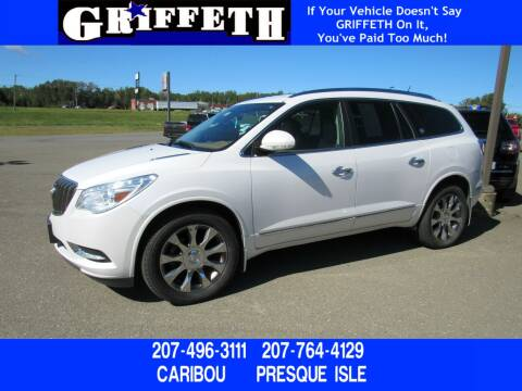 2016 Buick Enclave for sale at Griffeth Ford in Presque Isle ME