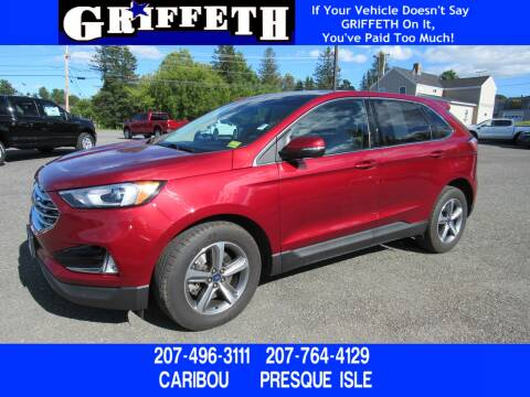 2019 Ford Edge for sale at Griffeth Ford in Presque Isle ME