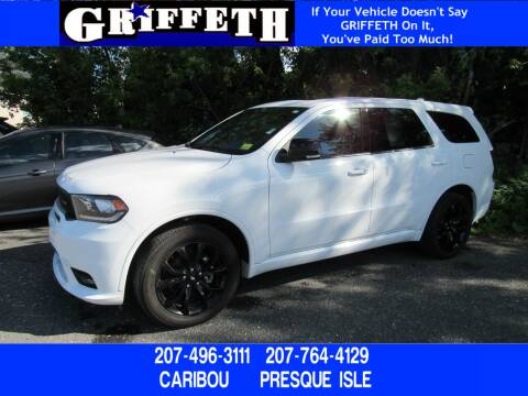 2019 Dodge Durango for sale at Griffeth Ford in Presque Isle ME