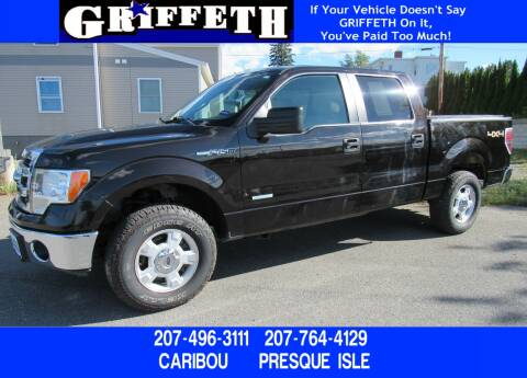 2013 Ford F-150 for sale at Griffeth Ford in Presque Isle ME