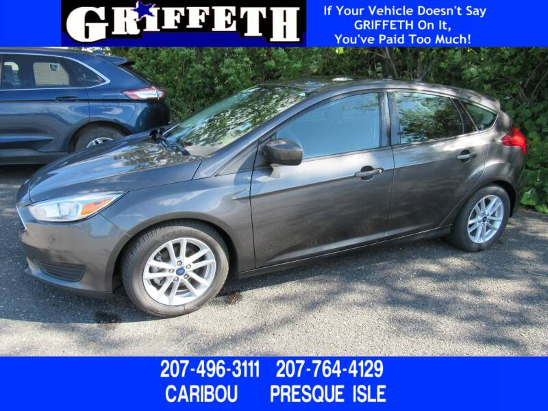 2018 Ford Focus for sale at Griffeth Ford in Presque Isle ME