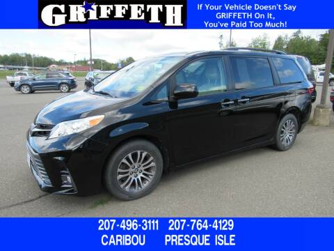 2018 Toyota Sienna for sale at Griffeth Ford in Presque Isle ME