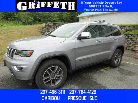 2019 Jeep Grand Cherokee for sale at Griffeth Ford in Presque Isle ME