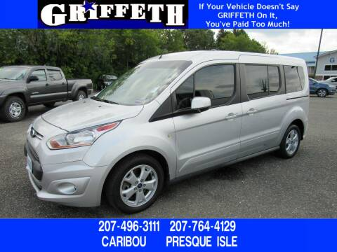 2014 Ford Transit Connect Wagon for sale at Griffeth Ford in Presque Isle ME