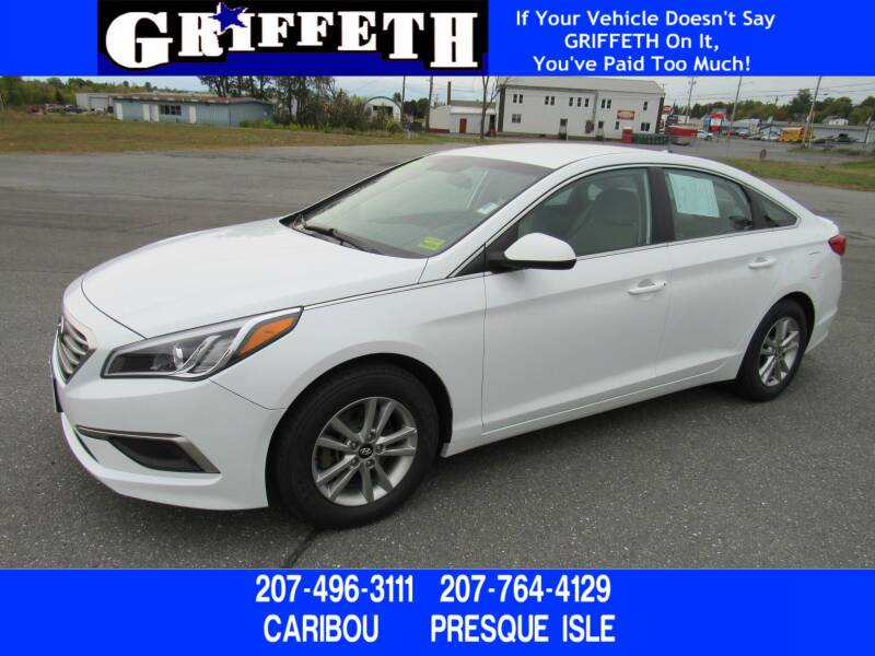 2017 Hyundai Sonata for sale at Griffeth Ford in Presque Isle ME