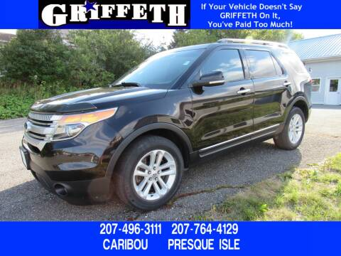 2013 Ford Explorer for sale at Griffeth Ford in Presque Isle ME