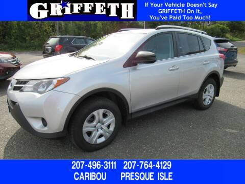 2015 Toyota RAV4 for sale at Griffeth Ford in Presque Isle ME