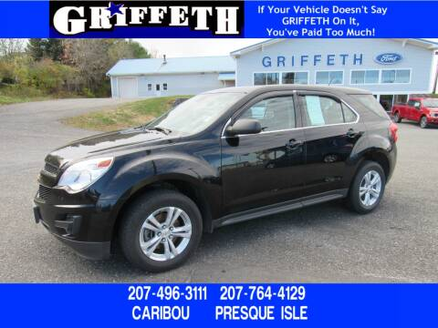 2015 Chevrolet Equinox for sale at Griffeth Ford in Presque Isle ME