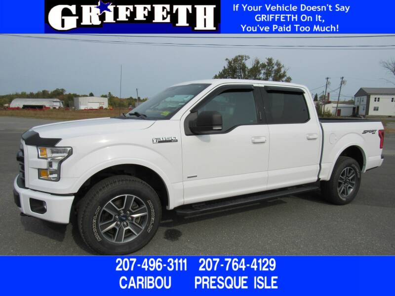 2016 Ford F-150 for sale at Griffeth Ford in Presque Isle ME